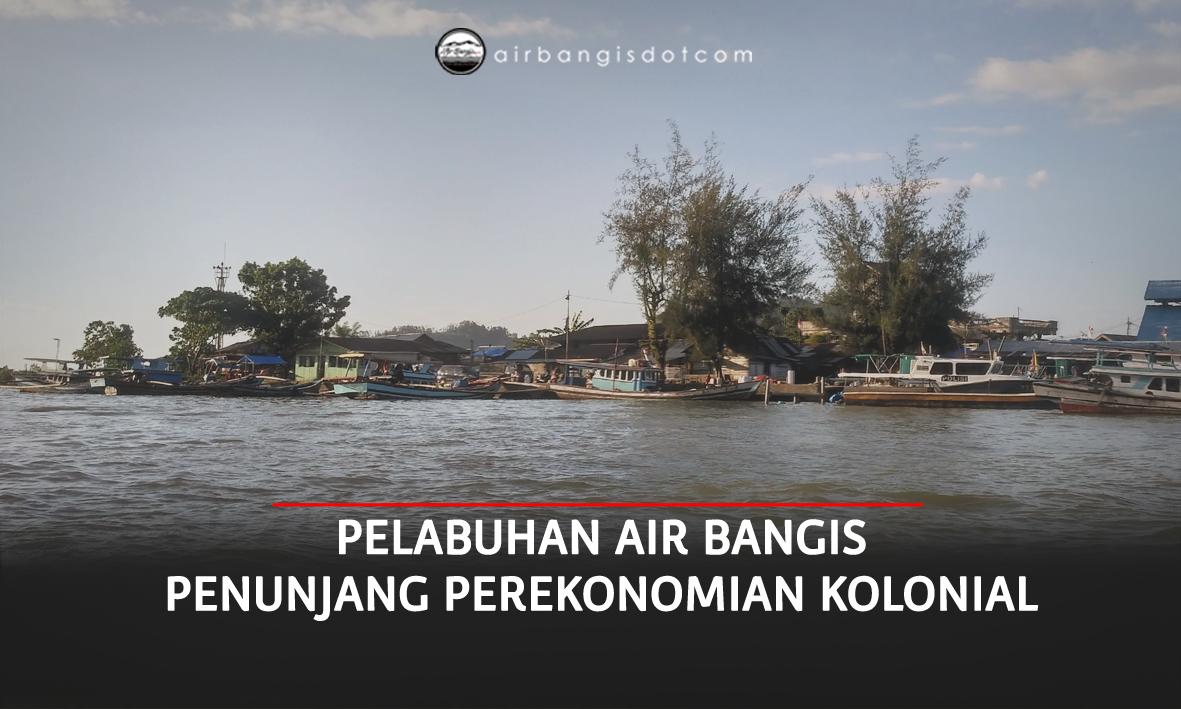 Pelabuhan Air Bangis, Penunjang Perekonomian Kolonial